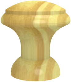 Pomo madera ref.: 201