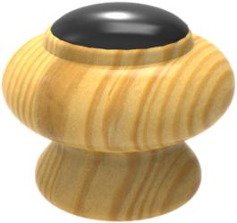 Pomo madera ref.: 604