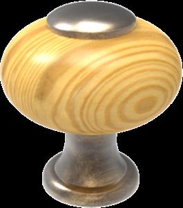 Pomo madera ref.: 606
