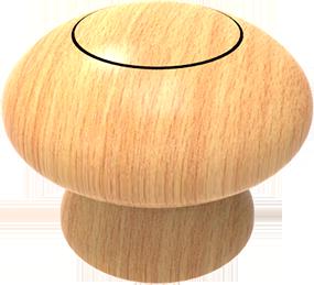 Pomo madera ref.: 778