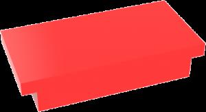 Tirador rectangulo de 200 Ref.: 840